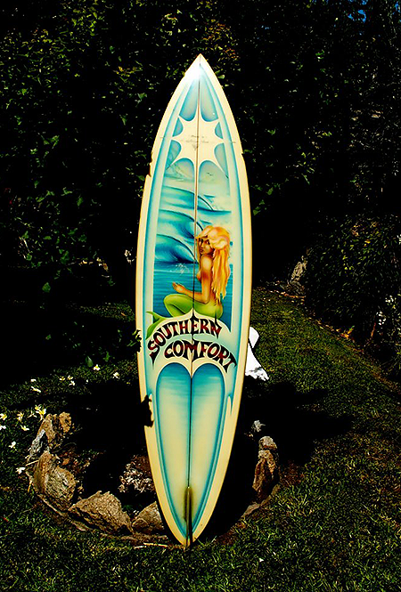 6ft-8in-Southern-Comfort-Surfboard-Shaped-by-William-York-spray-design-by-Jim-Davidson-circa-1978